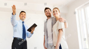 realtor with buyers